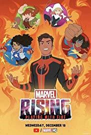 1 43 - دانلود انیمیشن Marvel Rising:Playing with Fire 2019