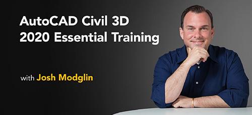 1 47 - دانلود Lynda Autodesk Civil 3D 2020 Essential Training آموزش اتوکد سیویل تری دی 2020