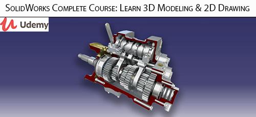 1 86 - دانلود Udemy SolidWorks Complete Course: Learn 3D Modeling & 2D Drawing آموزش کامل ساخت مدل های سه بعدی و طرح های دو بعدی در سالیدورکس