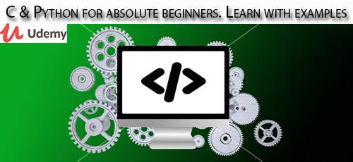 2 20 - دانلود Udemy C & Python for absolute beginners. Learn with examples آموزش مقدماتی سی و پایتون همراه با مثال