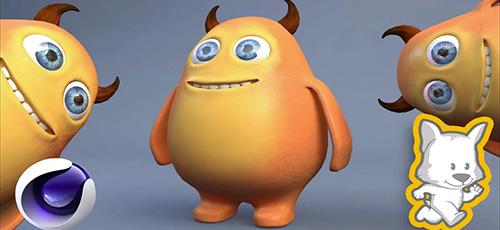 2 7 - دانلود Skillshare 3D Character Creation in Cinema 4D: Modeling a Happy Monster آموزش ساخت کاراکترهای سه بعدی در سینما فوردی: مدلسازی هیولاهای شاد