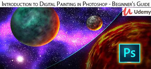 3 35 - دانلود Udemy Introduction to Digital Painting in Photoshop - Beginner's Guide آموزش مقدماتی نقاشی دیجتال در فتوشاپ