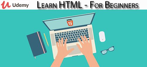5 49 - دانلود Udemy Learn HTML - For Beginners آموزش مقدماتی اچ تی ام ال