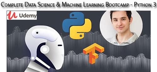 7 24 - دانلود Udemy Complete Data Science & Machine Learning Bootcamp - Python 3 آموزش کامل علوم داده و یادگیری ماشین با پایتون 3