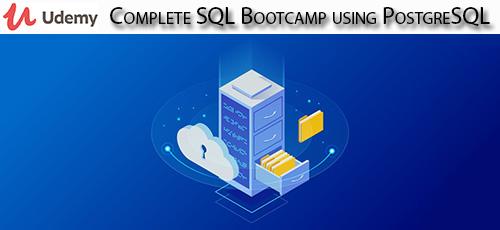 Udemy 1 - دانلود Udemy Complete SQL Bootcamp using PostgreSQL آموزش کامل اس کیو ال با پستگرسکیوال