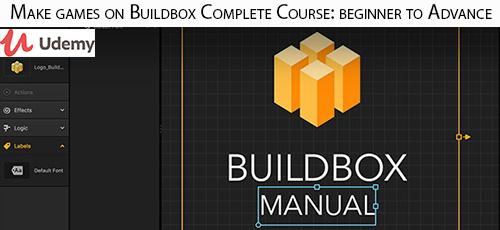 14 1 - دانلود Udemy Make games on Buildbox Complete Course: beginner to Advance آموزش مقدماتی تا پیشرفته ساخت بازی با بیلدباکس