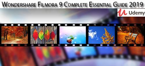 38 - دانلود Udemy Wondershare Filmora 9 Complete Essential Guide 2019 آموزش کامل نرم افزار واندرشر فیلمورا 9
