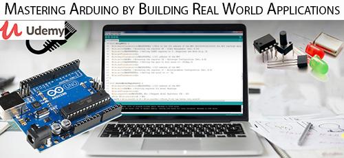 54 - دانلود Udemy Mastering Arduino by Building Real World Applications آموزش تسلط بر آردوینو با ساخت اپ های واقعی
