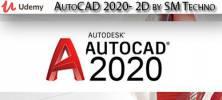 Udemy 1 222x100 - دانلود Udemy AutoCAD 2020- 2D by SM Techno آموزش اتوکد 2020