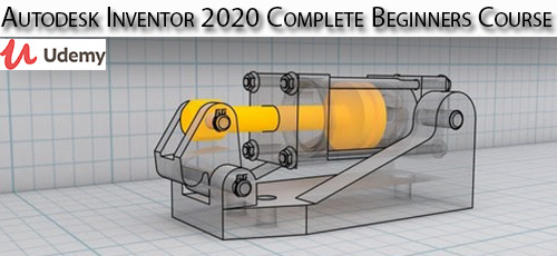 26 - دانلود Udemy Autodesk Inventor 2020 Complete Beginners Course آموزش مقدماتی کامل اتودسک اینونتور 2020