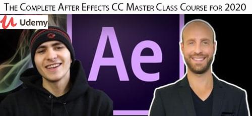 27 - دانلود Udemy The Complete After Effects CC Master Class Course for 2020 آموزش کامل افترافکت سی سی 2020