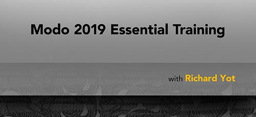 3 62 - دانلود Lynda Modo 2019 Essential Training آموزش نرم افزار انیمیشن سازی مودو 2019