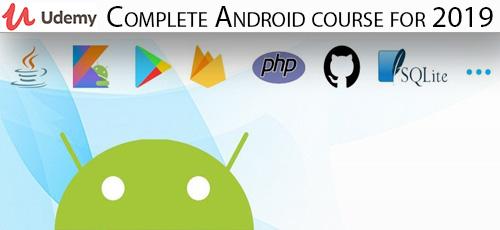 32 - دانلود Udemy Complete Android course for 2019 آموزش کامل توسعه اندروید