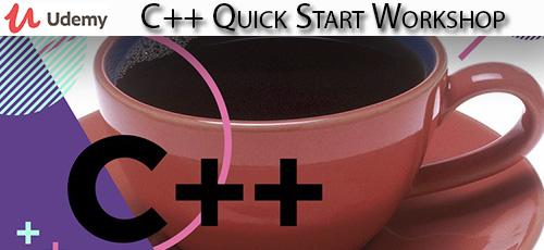 34 - دانلود Udemy C++ Quick Start Workshop آموزش شروع کار سریع با سی پلاس پلاس