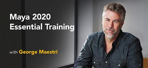 38 - دانلود Lynda Maya 2020 Essential Training آموزش نرم افزار مایا 2020