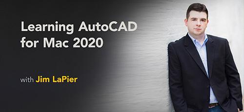 39 - دانلود Lynda Learning AutoCAD for Mac 2020 آموزش اتوکد 2020 برای مک