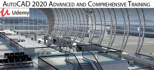 4 59 - دانلود Udemy AutoCAD 2020 Advanced and Comprehensive Training آموزش جامع و پیشرفته اتوکد 2020