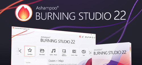 1 148 - دانلود Ashampoo Burning Studio 22.08 نرم افزار همه منظوره ی ایجاد و کپی دیسک