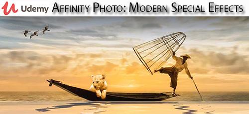 11 - دانلود Udemy Affinity Photo: Modern Special Effects آموزش افکت های ویژه در افینیتی فوتو