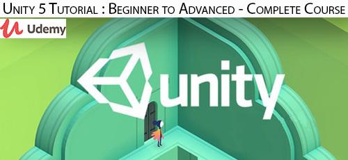 15 - دانلود Udemy Unity 5 Tutorial : Beginner to Advanced - Complete Course آموزش کامل مقدماتی تا پیشرفته یونتی 5