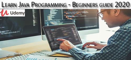 17 - دانلود Udemy Learn Java Programming - Beginners guide 2020 آموزش مقدماتی برنامه نویسی جاوا 202