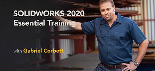 20 - دانلود Lynda SOLIDWORKS 2020 Essential Training آموزش نرم افزار سالیدورکس 2020