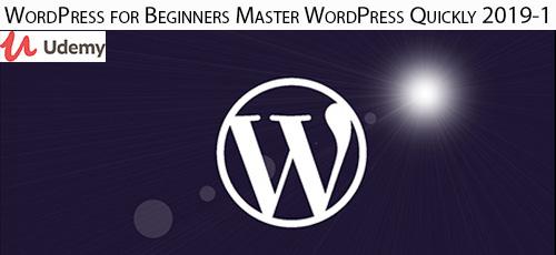 23 - دانلود Udemy WordPress for Beginners Master WordPress Quickly 2019 آموزش سریع وردپرس برای مبتدیان