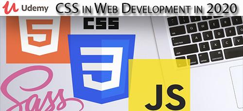 7 8 - دانلود Udemy CSS in Web Development in 2020 آموزش توسعه وب با سی اس اس 2020