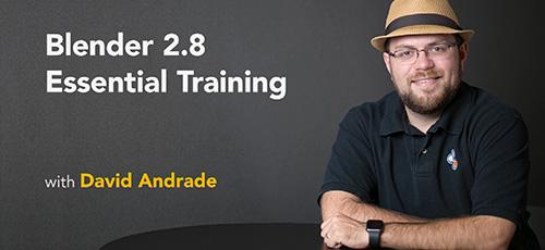8 - دانلود Lynda Blender 2.8 Essential Training آموزش نرم افزار بلندر 2.8