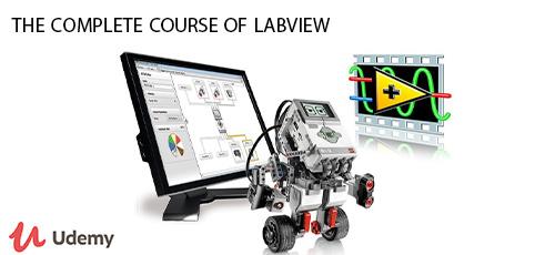13 - دانلود Udemy the complete course of labview آموزش کامل لب ویو