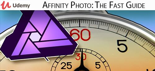 14 - دانلود Udemy Affinity Photo: The Fast Guide آموزش کامل نرم افزار افینیتی فوتو