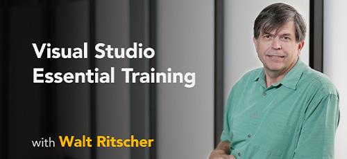 15 - دانلود Lynda Visual Studio 2019 Essential Training آموزش ویژوال استودیو 2019