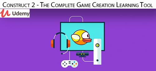 25 - دانلود Udemy Construct 2 - The Complete Game Creation Learning Tool آموزش کامل ساخت بازی با کانسترکت 2