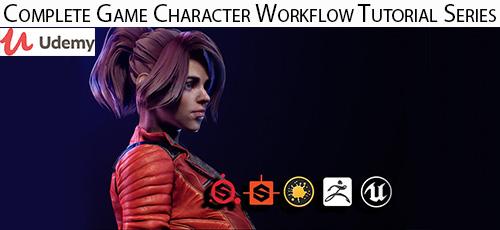 2 21 - دانلود Udemy Complete Game Character Workflow Tutorial Series آموزش کامل طراحی کاراکترهای بازی