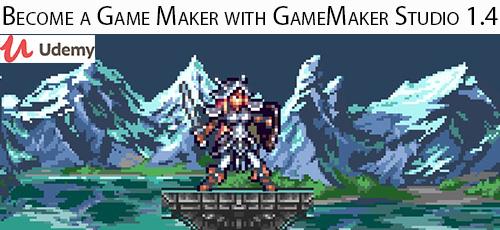 11 - دانلود Udemy Become a Game Maker with GameMaker Studio 1.4 آموزش ساخت بازی با گیم میکر استودیو 1.4