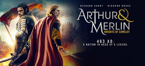 2 113 - دانلود فیلم Arthur and Merlin Knights of Camelot 2020 با زیرنویس فارسی