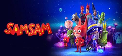 2 82 - دانلود انیمیشن SamSam 2019 با دوبله فارسی