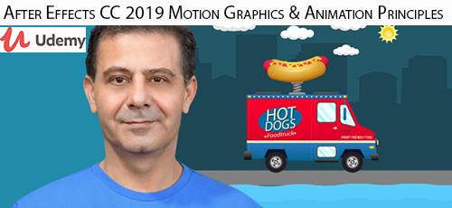 4 10 - دانلود Udemy After Effects CC 2019 Motion Graphics & Animation Principles آموزش موشن گرافیک و انیمیشن در افتر افکت سی سی 2019