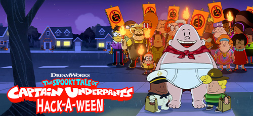 1 18 - دانلود انیمیشن The Spooky Tale of Captain Underpants Hack-a-Ween 2019 با دوبله فارسی