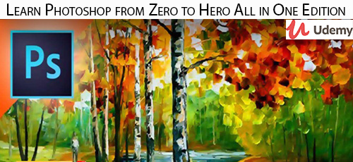 11 - دانلود Udemy Learn Photoshop from Zero to Hero All in One Edition آموزش مقدماتی تا پیشرفته فتوشاپ