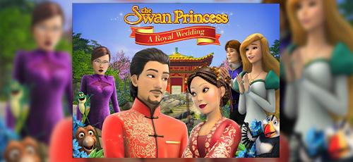 2 15 - دانلود انیمیشن The Swan Princess: A Royal Wedding 2020 با دوبله فارسی