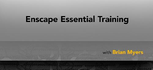 6 12 - دانلود Lynda Enscape Essential Training 2019 آموزش پلاگین انسکیپ