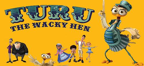 22 - دانلود انیمیشن Turu, the Wacky Hen 2019 با دوبله فارسی