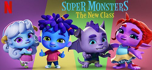 2 21 - دانلود انیمیشن Super Monsters: The New Class 2020