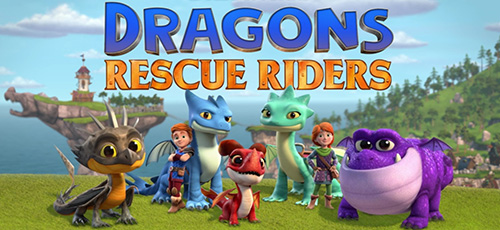 2 47 - دانلود انیمیشن Dragons: Rescue Riders: Hunt for the Golden Dragon 2020