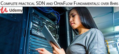 12 - دانلود Udemy Complete practical SDN and OpenFlow Fundamentals: over 8hrs آموزش کامل اس دی ان و اوپن فالو