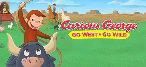 2 14 - دانلود انیمیشن Curious George: Go West, Go Wild 2020