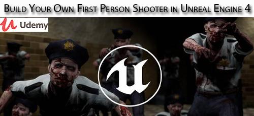 24 1 - دانلود Udemy Build Your Own First Person Shooter in Unreal Engine 4 آموزش ساخت بازی تیراندازی اول شخص با موتور آنریل 4