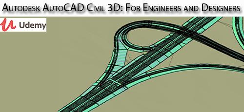 24 - دانلود Udemy Autodesk AutoCAD Civil 3D: For Engineers and Designers آموزش مقدماتی تا طراحی اتوکد سیویل تری دی