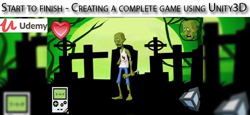 25 - دانلود Udemy Start to finish - Creating a complete game using Unity3D آموزش ابتدا تا انتهای ساخت کامل بازی با یونیتی تری دی